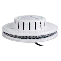 2014 High Qulatiy White Sunflower 48 LED RGB Magic Disco DJ Stage Lighting Bar Party Effect Light lamp, Free Shipping
