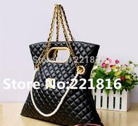 New Fashion women handbag women messenger bags shoulder bags Top Quality Women's Leather  Name Brand Designer GOLD Color free