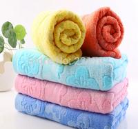 Free Shipping 2 pcs/lot Towel Bamboo 70*140cm Solid adult bath towel Family Towels bathroom 10