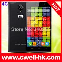 """Original THL L969 4G FDD LTE Mobile Phones MTK6582 Quad Core 5.0"""" IPS 1GB RAM 4GB ROM Android 4.4 2700mAh THL 4400 4G version"""