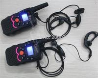 2014 NEW 1W portable mobile radio walkie talkie two radios transceiver transmitter PTT cb radio communicator vox earpieces 0-8km