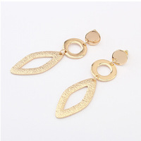 New Arrival Vintage fashion charm Style High-quality gold-plated geometric Punk Pendant Earrings jewelry for women 2014 PT31