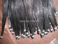 25 Hanks High quality Mongolia Black Violin Bow hair 6 grams each hank in 32 inches