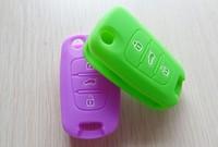 Cheapest Silicone Key Cover Remote Control Car Keychain Case for KIA 2012 RIO K2 K5 Sportage R forte CERATO