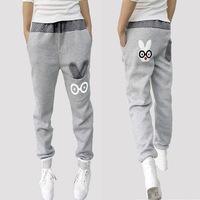 2014 New Sports Pants Peter Rabbit cartoon pants women Loose Casual Pants Cotton Harem Pants#NB67