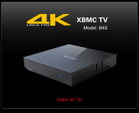 B4S 4K player XBMC TV  chip full-format  HD professional TV box TV Stick new 2015 Superstar sales  RK3288 Quad-core Android 4.4