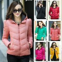 2014 New Winter Jacket Women Clothing Coat Overcoat  7 Colors YFZ60