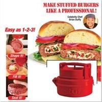 No box 2014 latest Stufz Stuffed hamburger press,kitchen meat and poultry tools,burger press meat,hamburger machine #NB73