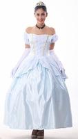 The European court dress sissi Halloween Snow White skirt Cinderella cosplay clothing  4