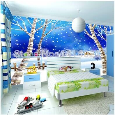 Wallpaper For Kids Rooms : 3d wallpaper papel de parede non woven 3d mural wallpaper 3d frozen ...