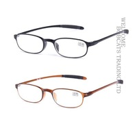 2pcs HOT men women Reader Reading Glasses TR90 Frame +1.0 +1.5 +2.0 +2.5 +3.0 +3.5