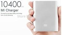 10400mAh Real capacity Original Xiaomi Power bank External Battery Pack Free Shipping