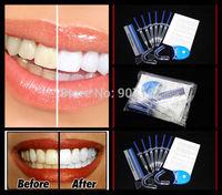 1Pack/lot  Home Use Teeth Tooth Whitener Whitening Bleaching Dental Gel Syringe Kits + LED LASER Light MY319