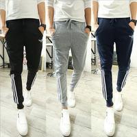 DG-21 2014 Autumn winter Slim Fitness Skinny sweatpants men Jogging pants Sports Jogger Hip hop pants harem