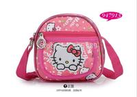 Children Messenger Bag KT Cat Girls Cartoon Packet Little Girl Schoolbag Cartoon Shoulder Bags