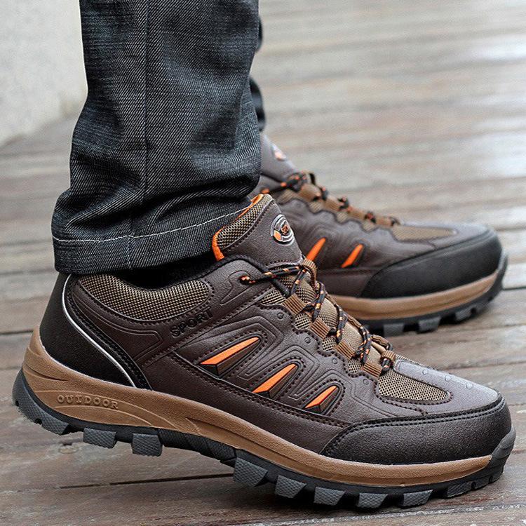 Grátis frete nova escalada ao ar livre malha respirável caminhadas sapatos masculinos sapatos de turismo(China (Mainland))