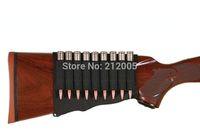 1x   hunting Shotgun Rifle 9 Shells Butt Stock Shell Cartridge Holder Shotshell Ammunition Carrier 9