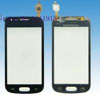 black Outer Glass Touch Screen toque de vidro pantalla tactil For Samsung Galaxy Trend gt S7560 S7562