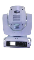 Free shipping ! (2pcs/lot) 5R 200W moving head beam light with flycase ( white color , touch screen, 16 prism)