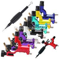 Dragonfly Tattoo Guns Machine Shader & Liner Rotary Gun 7 Colors Rotary Tattoo Motor Gun Grips Kits Rotary Motor Free Shipping