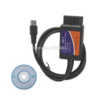 ELM327 USB & ELM327 Interface & ELM327 V1.5 Scanner Software USB Plastic