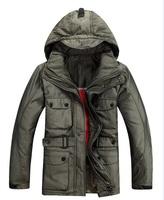 Super Deal Men's DownJacket,Keep Warm-and Waterproof Have Plus Size 3xl Size Men's Down Jacket,2014 New Fashion Men Parkas