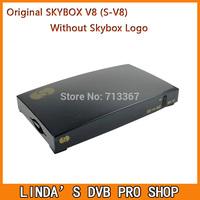10pcs Original S-V8 Satellite Receiver Skybox V8 support 2xUSB Slot USB Wifi WEB TV Cccamd Newcamd YouTube YouPorn Biss Key