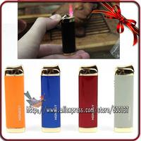 Honest High Quality Hot Pink Jet Flame Cigar Cigarette Butane Gas Lighter