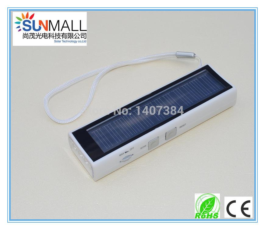 Manufacture Solar light LED solar flashlight with Radio(China (Mainland))
