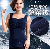 2 PCS 2014 new super soft warm vest warm Body Sculpting Slimming Underwear Size XL-XXL-XXXL Free shipping L846