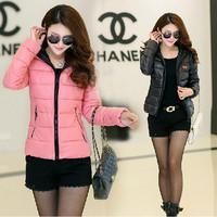 New 2014 Fashion Winter Jacket Thickening Slim Warm Down Jacket Casual Short Coat Women Plus Size Parkas Outerwear JC047