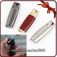 High Quality Metal Electroplatin Jet Blue Torch Flame Cigarette Butane Gas Lighter
