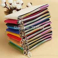 Free Shipping Fashion New Women Wristlet Wallet Colorful Lady Card Coin Holder Case Pouch Wallet Clutch Bag Purse Handbag BG027