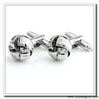 Free Shipping ! YH-314 Hot Selling Classic Silver Knot Cufflink- Factory Direct Wholesale