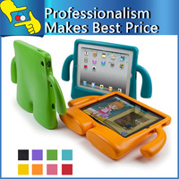 3D TV Shape Cute Stand Silicone Cover Case for ipad5 ipad2/3/4 for kids Free shipping