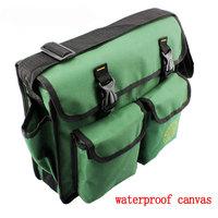 Multifunction Telecom electrical repair package double large canvas shoulder bag tool bag
