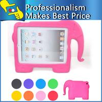 Free shipping Elephant-shape Kids Safe Foam Shock Proof Case Cover for iPad 5