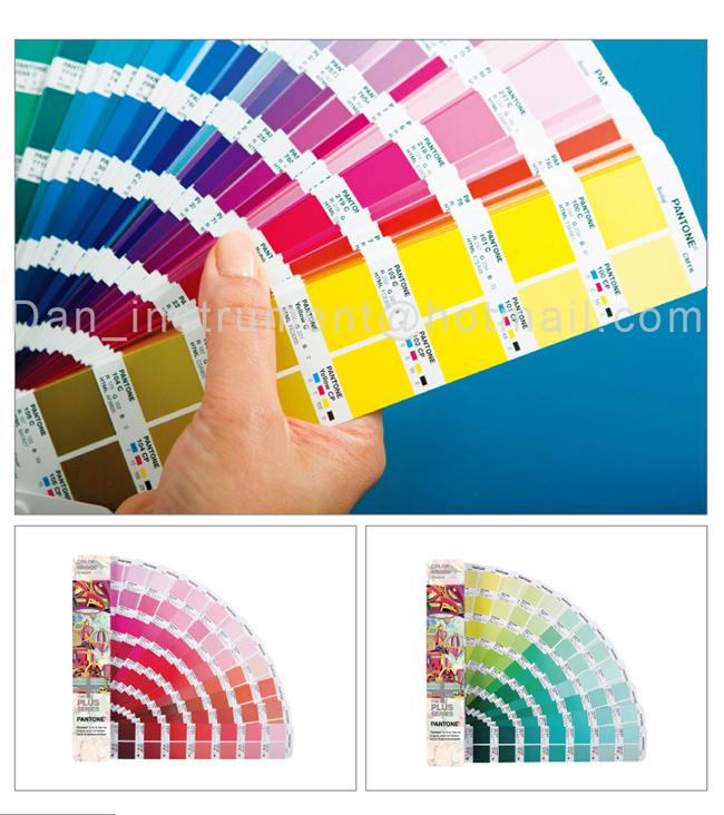 Pantone international color Bridge guide CMYK ,RGB Chromatography GP5102 for Printing industry(China (Mainland))
