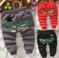 2014 Vogue Winter Velvet Trousers(5Pcs/lot) Kid Baby Harem Pants Pants & Capris [iso-14-9-11-A2]