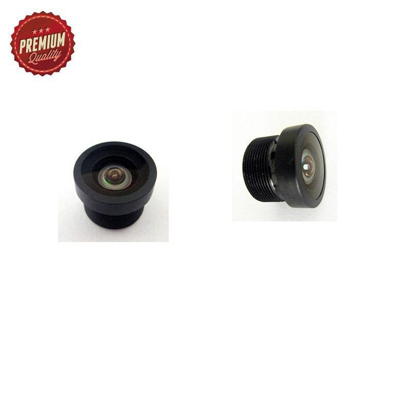 1/4 12mm diameter 160 degrees wide angle CCTV lens for rearview camera FPV camera M12 car DVR camera lens(China (Mainland))