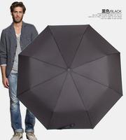 Free shipping 2014 new  Fashion  Automatic Parasol umbrella black  ,dark blue,red wind,  umbrella