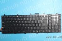 nb1985 UI Keyboard For MSI Steelseries GT60 GT70 GX60 GX70 Keyboard  backlit US V123322AK