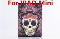 Free Shipping for ipad Mini case, Retro Smart Table Leather Case For iPad Mini 1 2  Case for ipad mini