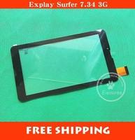 """New 7"""" Orro A960 MTK6577 MTK6527 Tablet PC TP FM707101KD FM707101KC FM707101KE HS1275 LLT JX130829A touch screen panel Digitizer"""