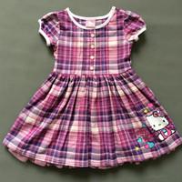 Best selling Children's clothing girl's cotton cartoon dress kids short sleeve one-piece Little Spring GTJ-Q0196