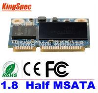 Kingspec mini pcie Half mSATA ssd 128GB SATA III SATA II 2.5*3cm Module ssd 128gb msata For Tablet PC hard disk >half msata 32gb
