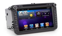 Car DVD player for VW Golf 6 Polo Passat Jetta Tiguan Touran EOS Sharan with Pure android 4.2.2 dual Core CPU:1G RAM:1G WIFI 3G