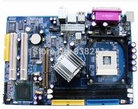 New 865gv 865 motherboard fully integrated 478 cpu 4usb AGP LPT com PCI SATA