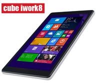 cube iwork8 Original 8 inch U80GT Tablet PC Intel Z3735E Quad Core Windows 8.1 IPS1280*800 1G+16G HDMI Dual Camera Russian