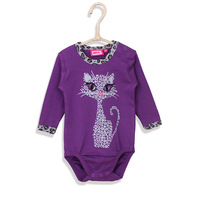 100% Cotton Cute Baby Triangle Cotton Romper One-Pieces Clothes Unisex long Sleeve Romper Spring Summer Bodysuits